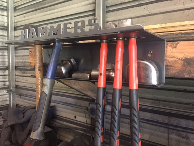 Image of Hammer & Dolly Rack / Holder / Storage