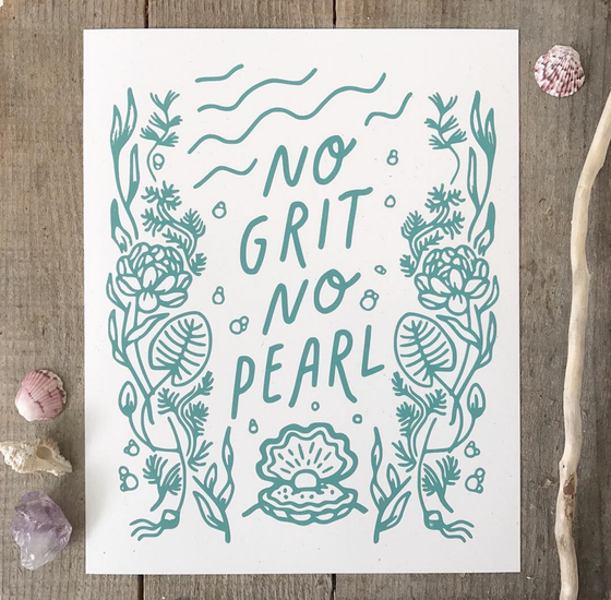 Image of No Grit No Pearl