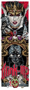 Image of BLINK-182 gigposter - EVIL QUEEN