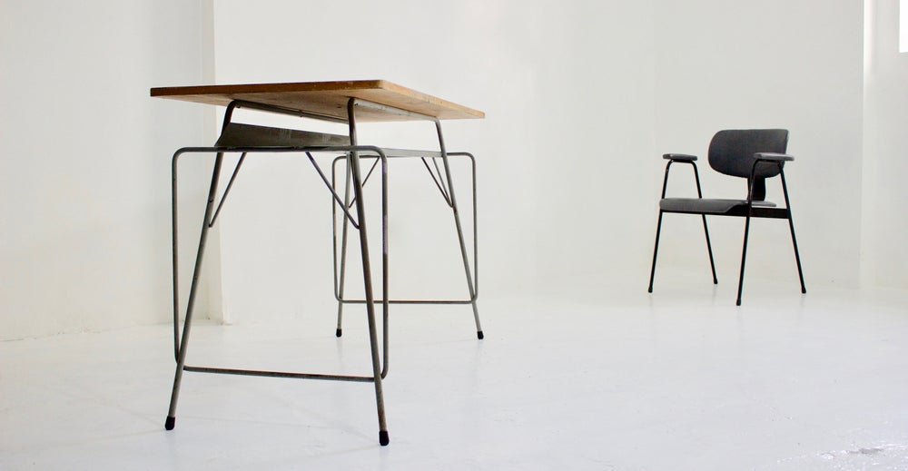 Image of Large Desk by Willy Van Der Meeren