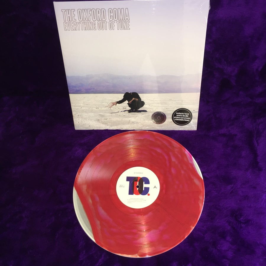 """Image of Everything Out of Tune 12"""" LP Limited Edition Waxmage Variant"""