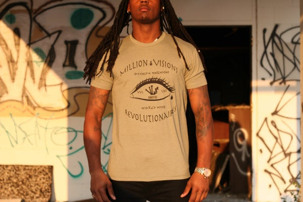 Image of Million Dollar Vi$ion Tee Olive/Black