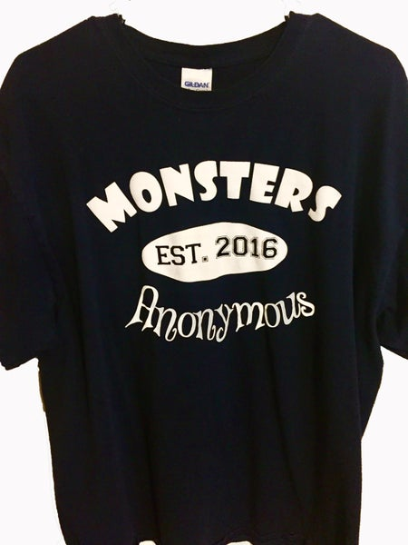 Image of Monsters Anonymous T-Shirt Design 1 *Price includes S&H