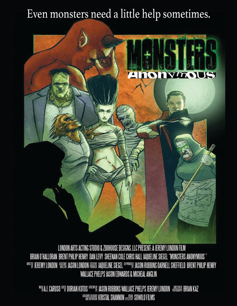 "Image of 11"" x 17"" Monsters Anonymous Glossy Poster (Plain) *Price includes S&H"