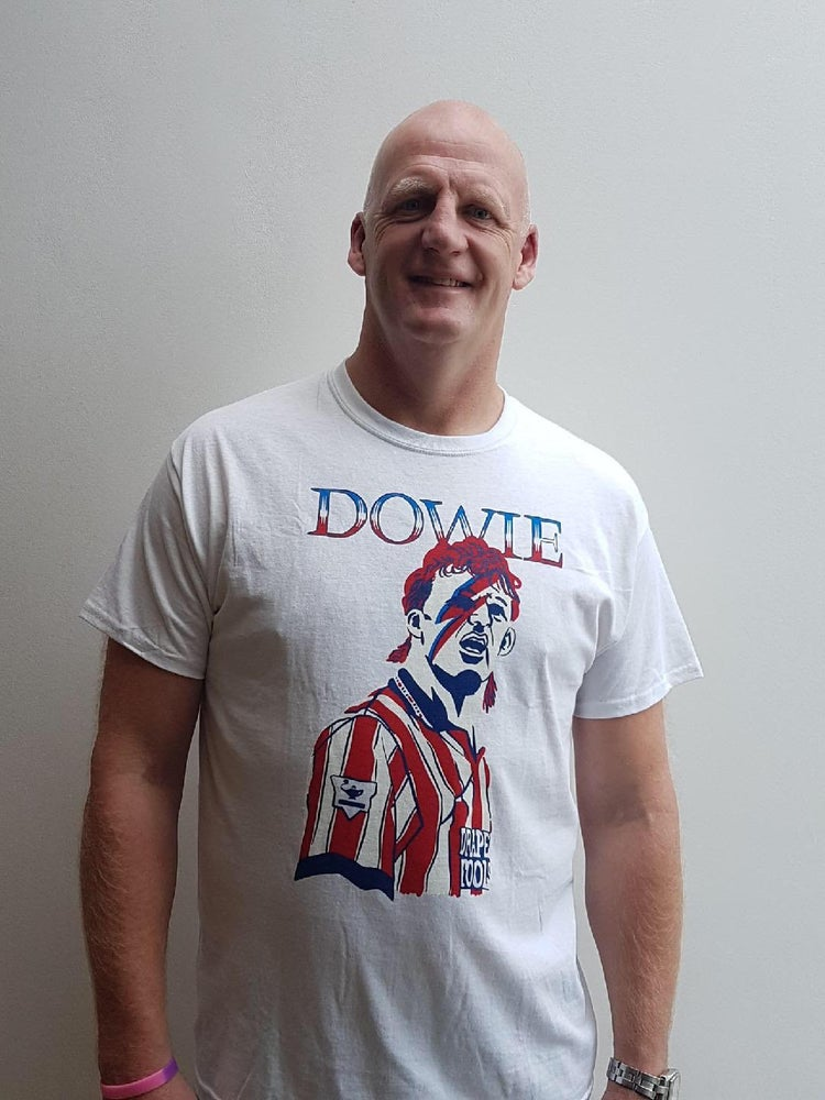 "Image of ""Dowie Bowie"" limited edition t-shirt"