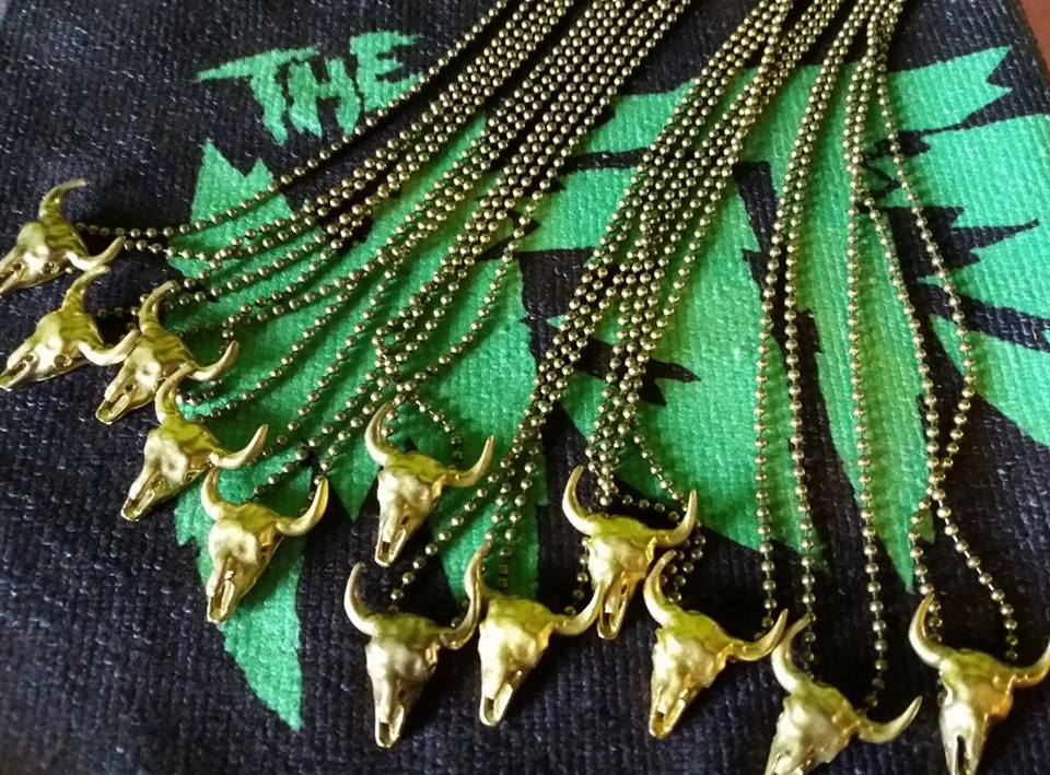 Image of WWWC Skull necklaces by Pink Funeral