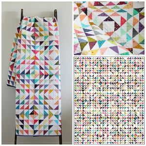 Image of Confetti Quilt using Ombre Fabric PDF FILE