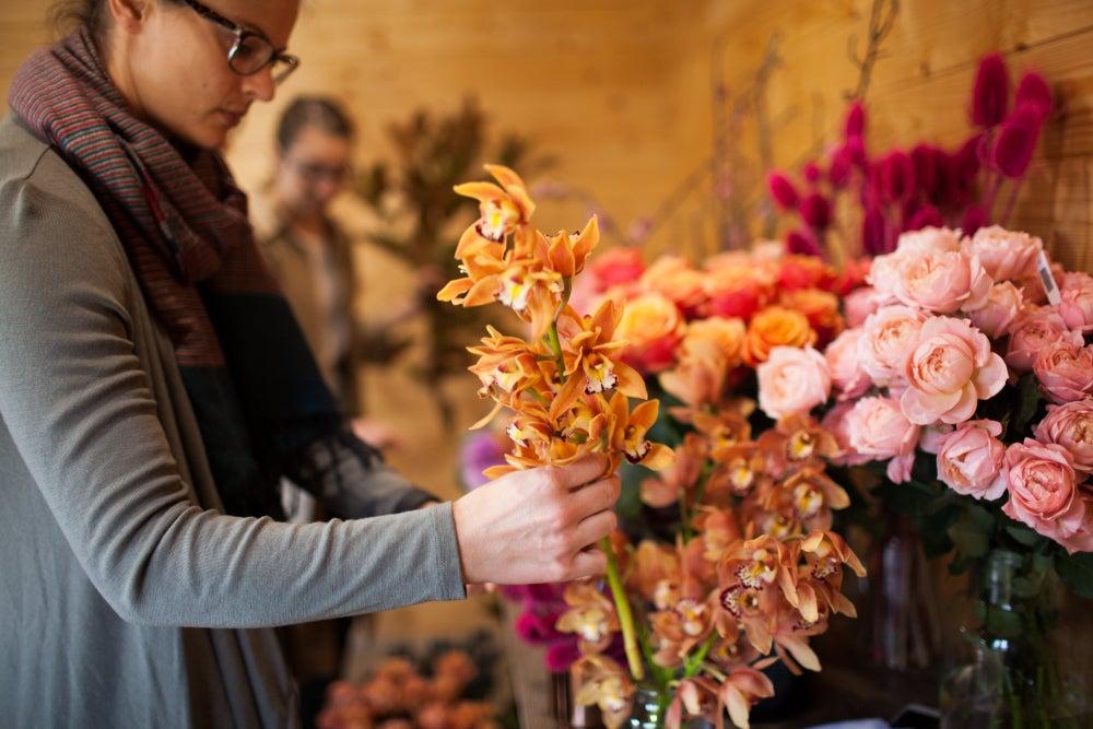 Image of West Elm - Spring Bouquet Workshop Friday 8th of September