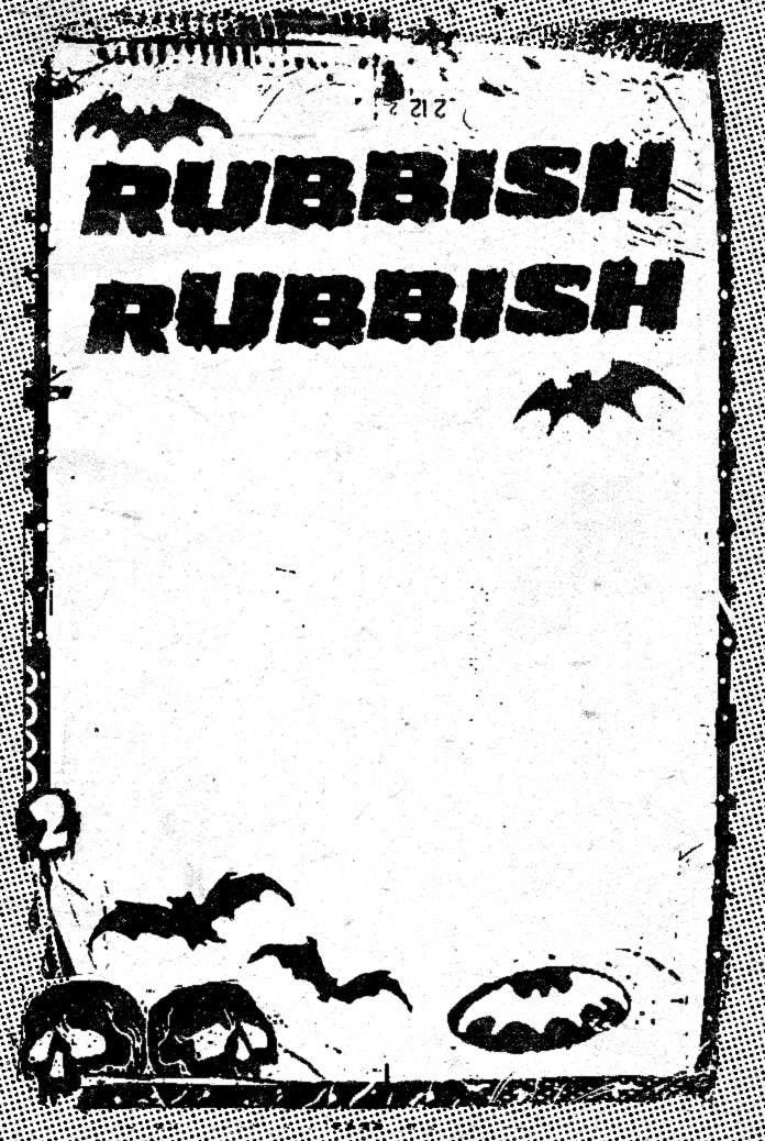 Image of Rubbish Rubbish 64 Paul Rentler