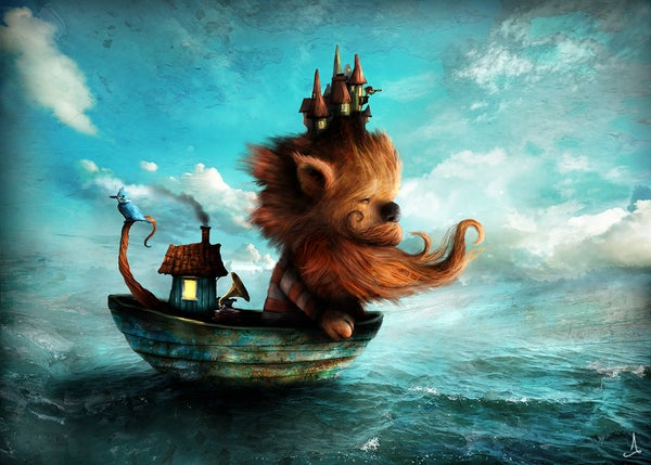 """Red Beard"" - Alexander Jansson Shop"