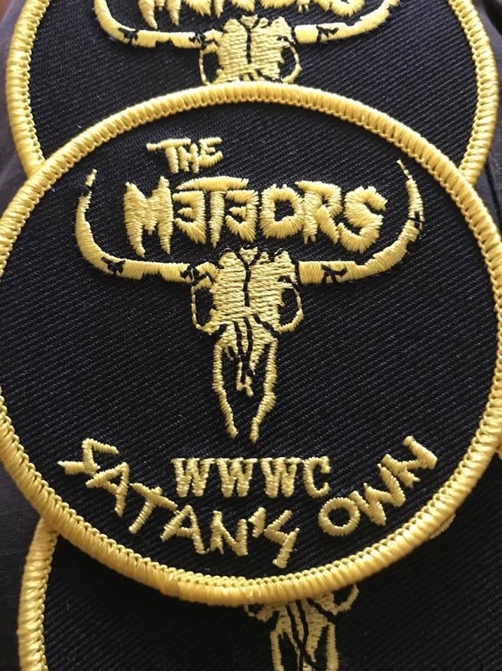 Image of Official Meteors WWWC Satan's Own embroidered patch