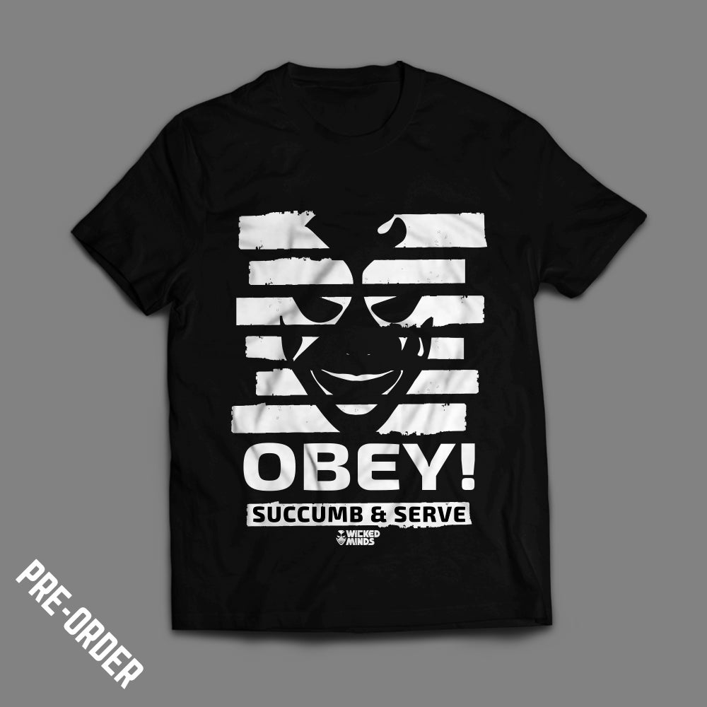 "Image of Wicked Minds - ""Obey!"" T-shirt  *NEW*"