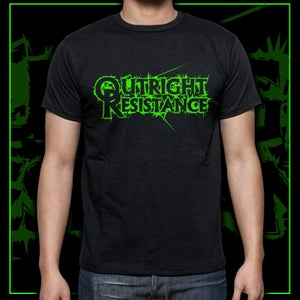 Image of Neon Green Logo Tee