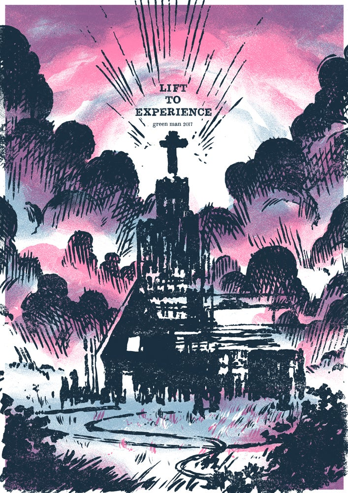 Image of Lift To Experience - Green Man 2017 Poster
