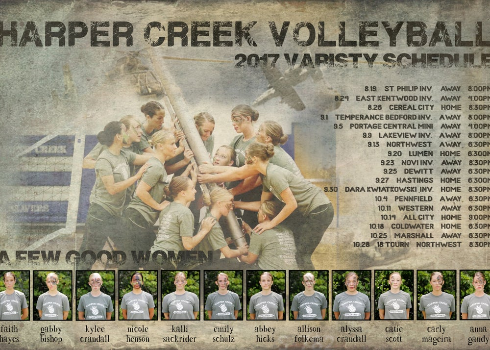 Image of HC Volleyball Poster