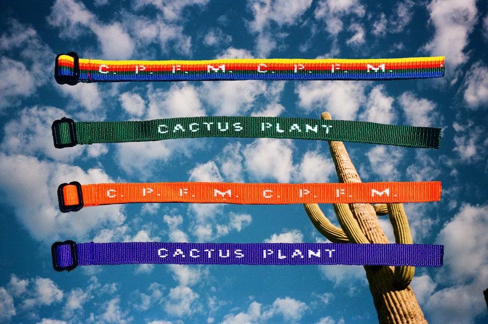 "Image of C .  P .  F.  M  .   /   ""CACTUS  PLANT ""   CULT   I.D.  BRACELET"