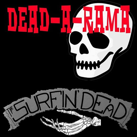 Image of PRE-ORDER Limited edition The Surfin' Dead - Dead-a-rama 10 inch LP