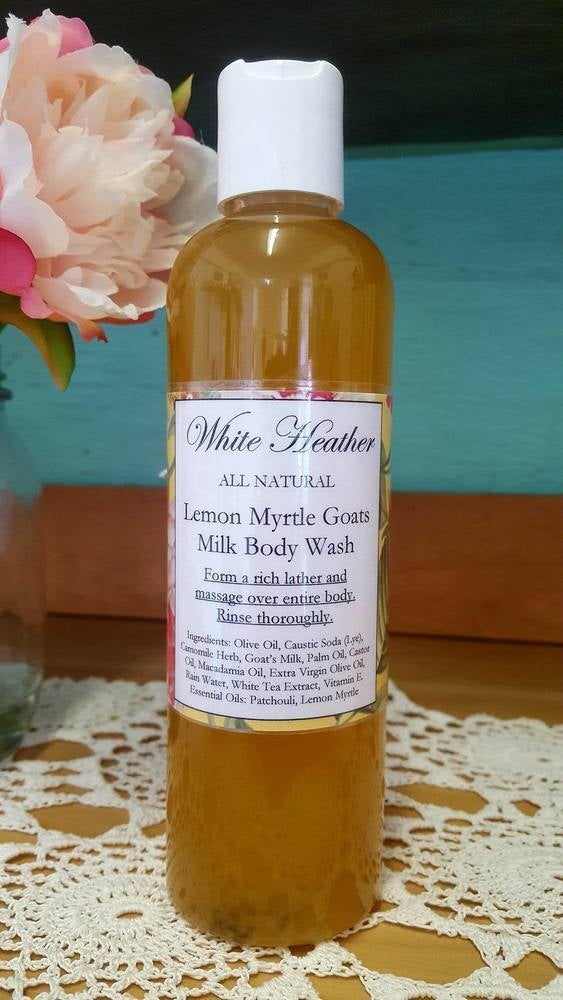 Image of Lemon Myrtle Goats Milk Body Wash