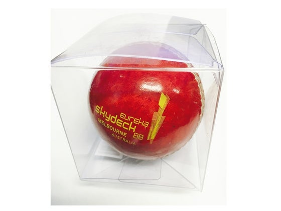 Image of Genuine Leather Cricket Ball inc.postage*