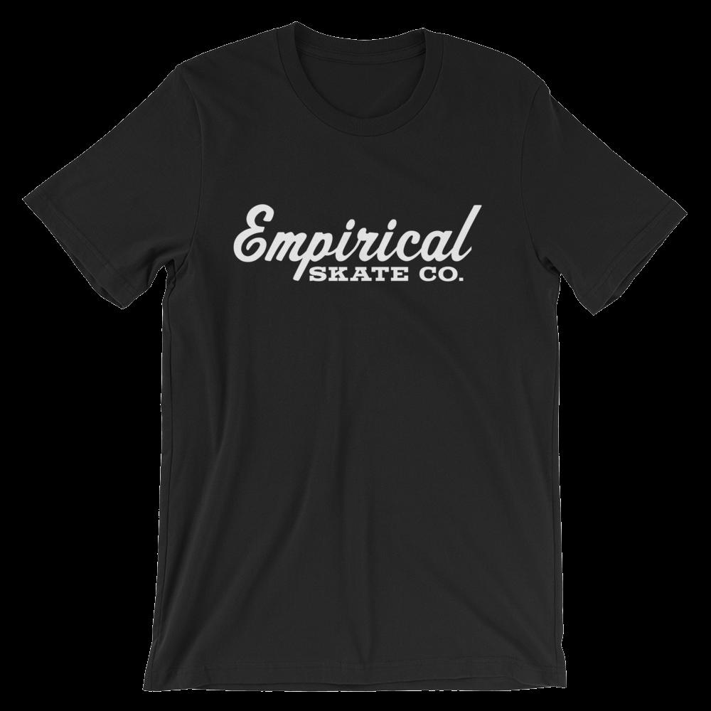 Image of Empirical Logo Tees and Womens Tanks (WHITE LOGO)