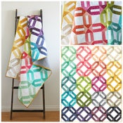 Image of Ombre Weave Ombre fabric quilt PDF pattern