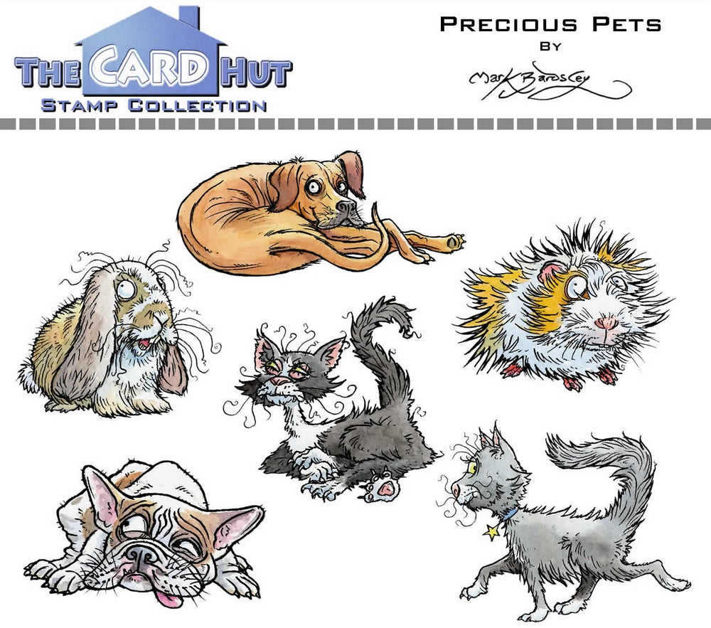 Image of Precious Pets - Stamp set