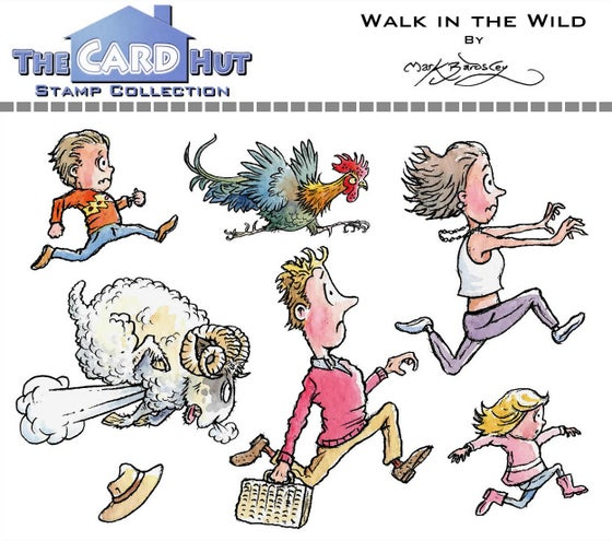 Image of Walk in the Wild - Stamp set
