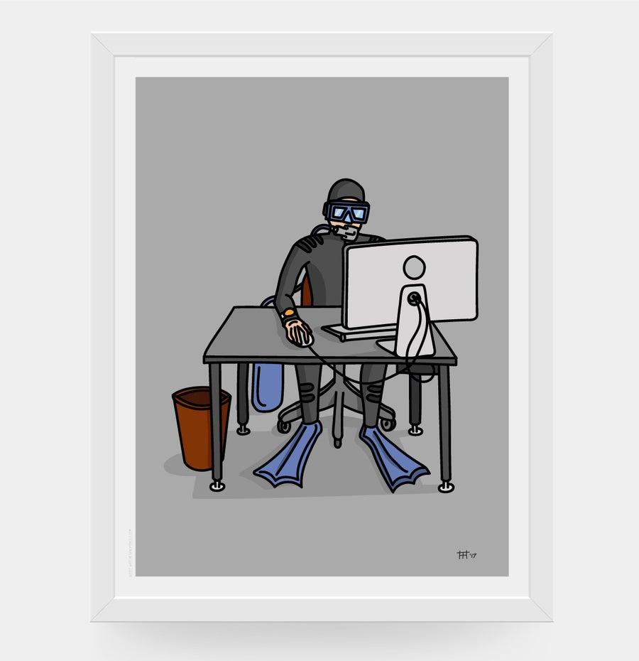 Image of Desk diver