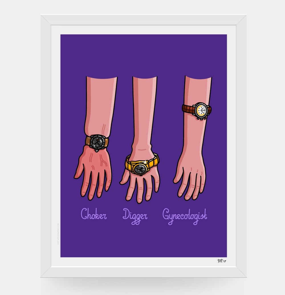 Image of Ways of wearing watches