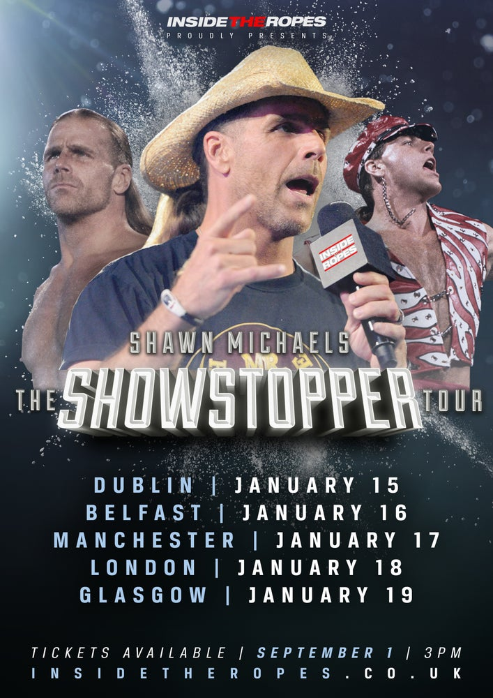 Image of MANCHESTER - THE SHOWSTOPPER TOUR: An Evening with Shawn Michaels!