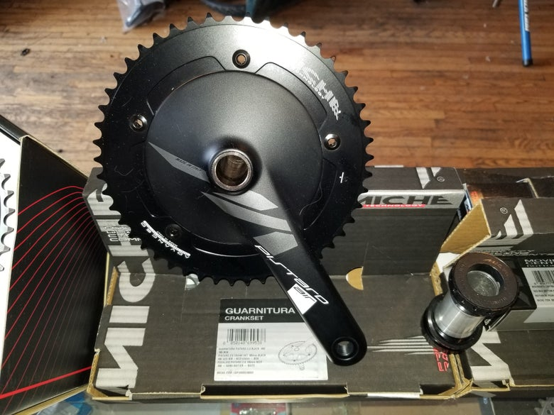 Image of Miche Pistard Air Track Crankset 49T