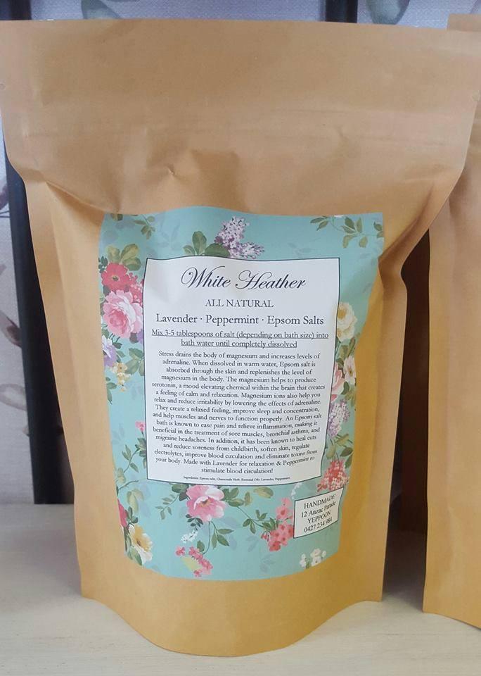 Image of Lavender & Peppermint Epsom Salts