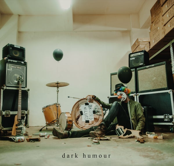 Image of BRUISED WILLIES dark humour EP - Cassette and Digipak CD