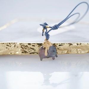 Image of Elephant and palmtree bracelet
