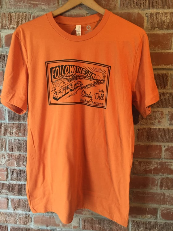 Image of Basic Tee in Rust Orange