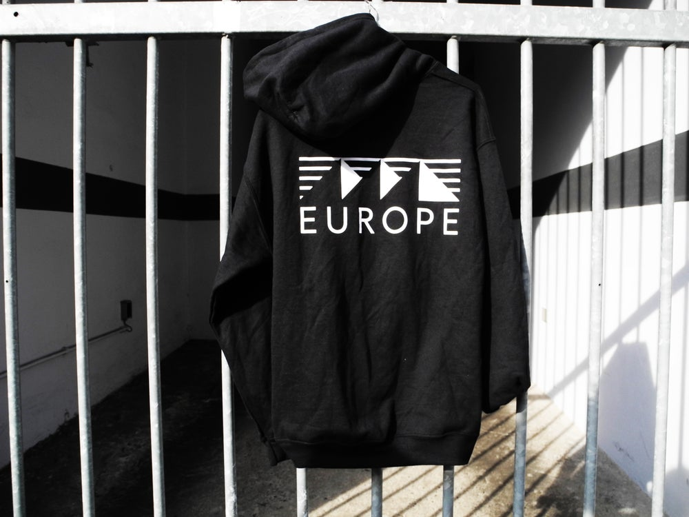 Image of Classic logo hoodie - Black