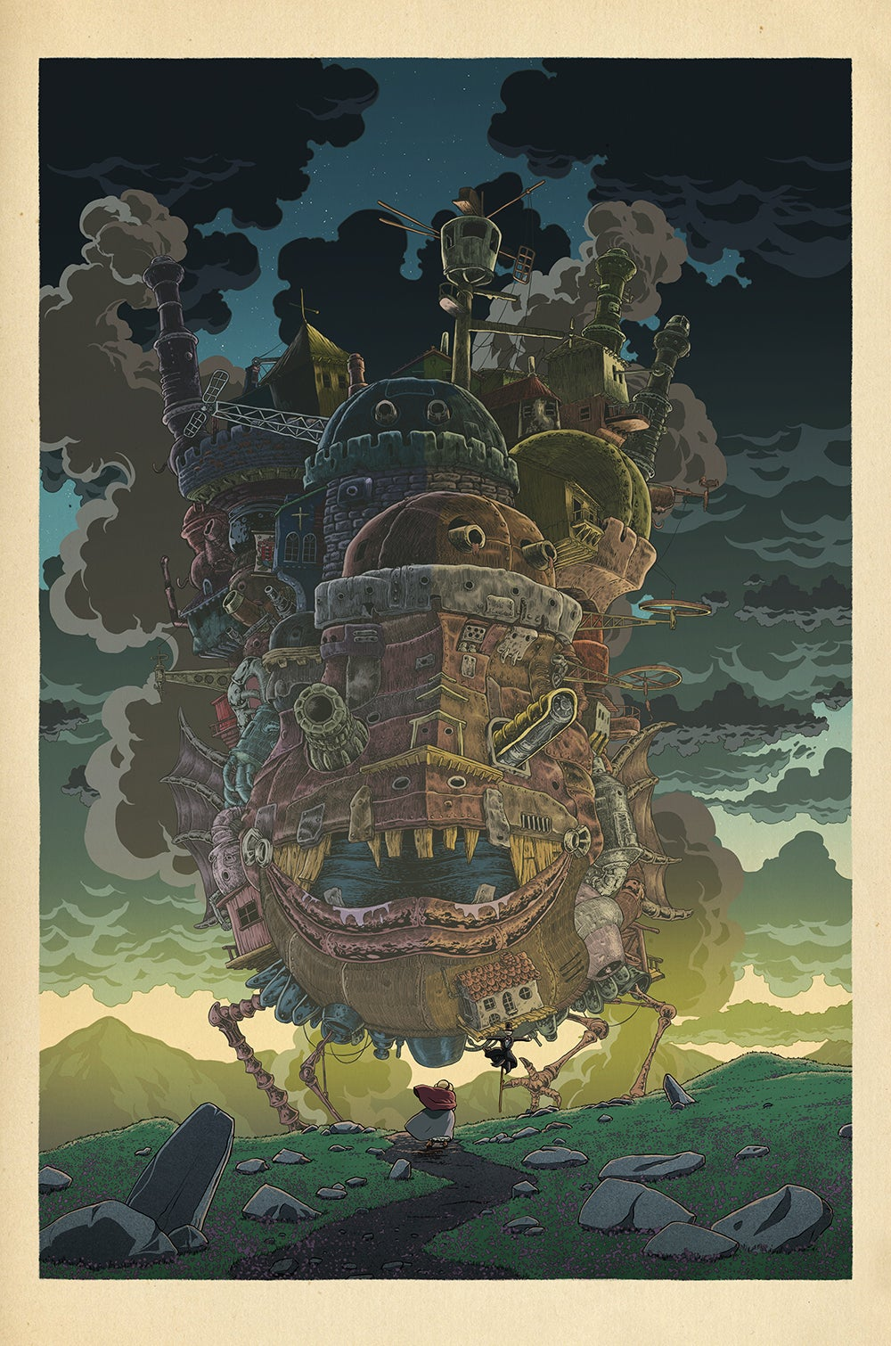 Image of Hayao Miyazaki/Japanese Print Set (Series 2)
