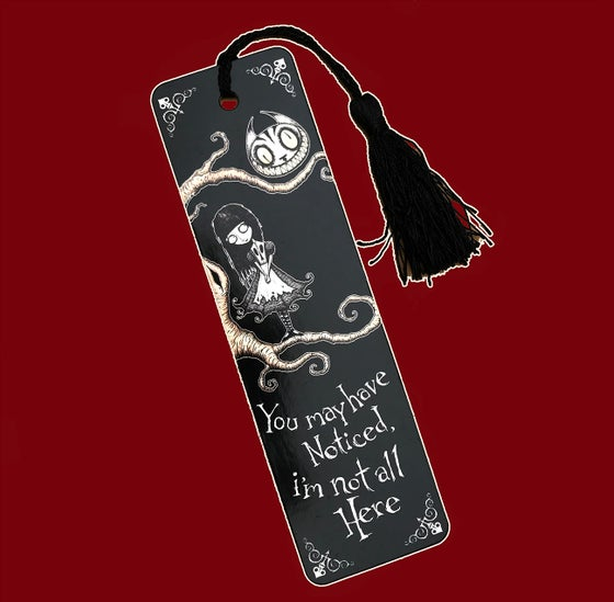 Image of DARK WONDERLAND - I'M NOT ALL HERE - BOOKMARK