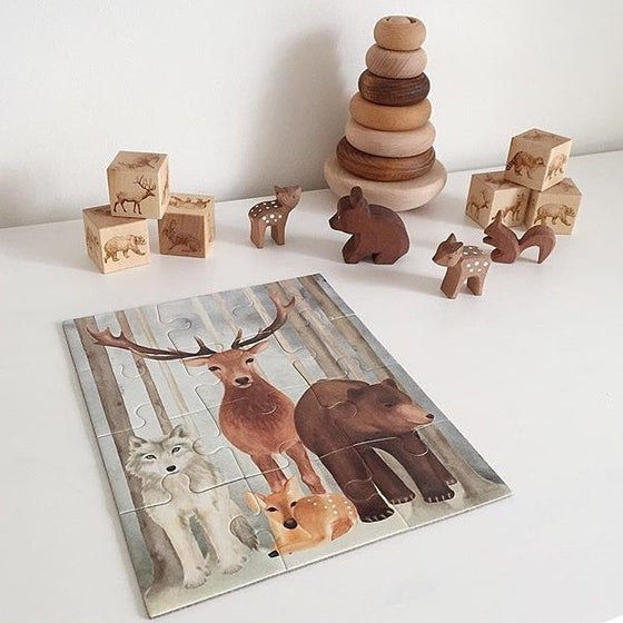 Image of Call of the Wild jigsaw puzzle