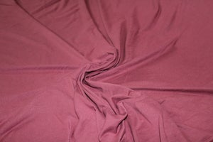 Image of Double Brushed Poly Solids - Marsala