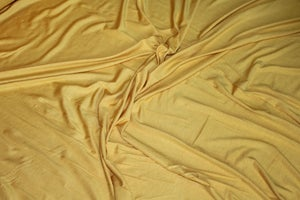 Image of Bamboo Spandex Solids - Mustard