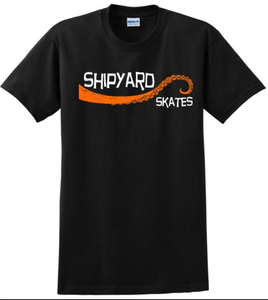 "Image of Shipyard Skates ""Tentacle"" T-Shirt Halloween!"