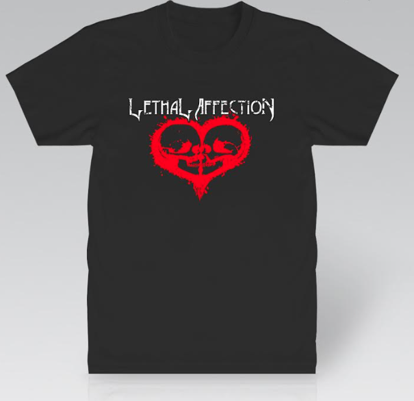 Image of Lethal Affection Logo Tee, OH YEAH!