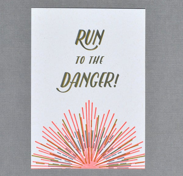 Image of Run to the Danger!