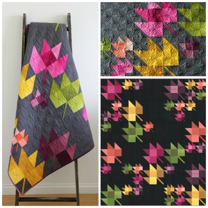 Image of Fall Breeze Ombre Quilt pattern
