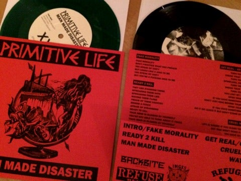 Image of Man Made Disaster 7""