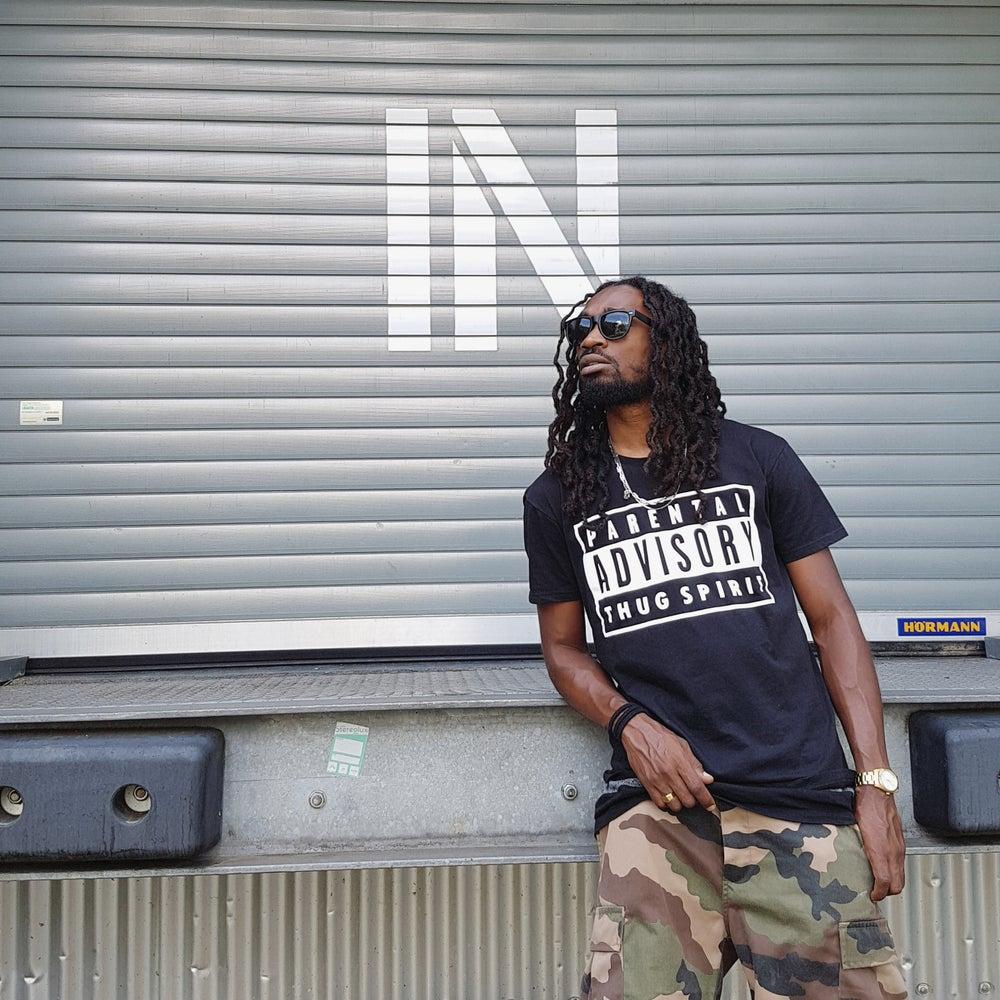Image of Tshirt Joey Uzi Thug Spirit Noir