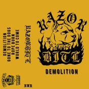 Image of RAZORBITE 'DEMOLITION' CASSETTE