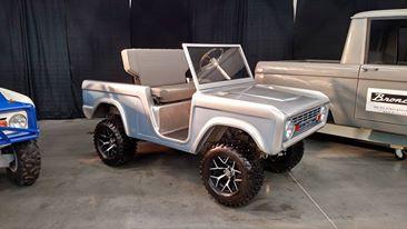 Image of Bronco Golf Cart Body Kit