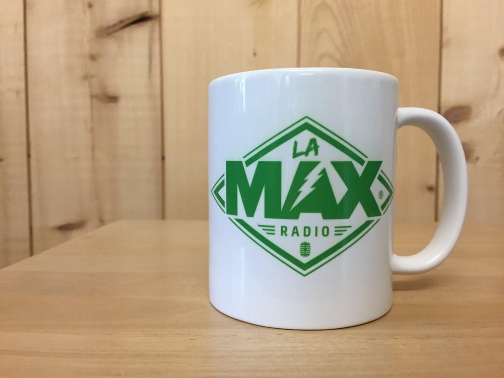Image of MUG - LA MAX RADIO VERT - FRAIS DE PORT INCLUS EN FRANCE